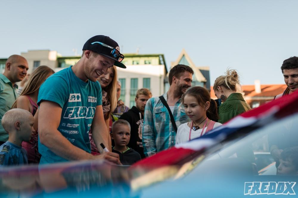 Fredrik Øksnevad Drift Allstars Riga Fredox