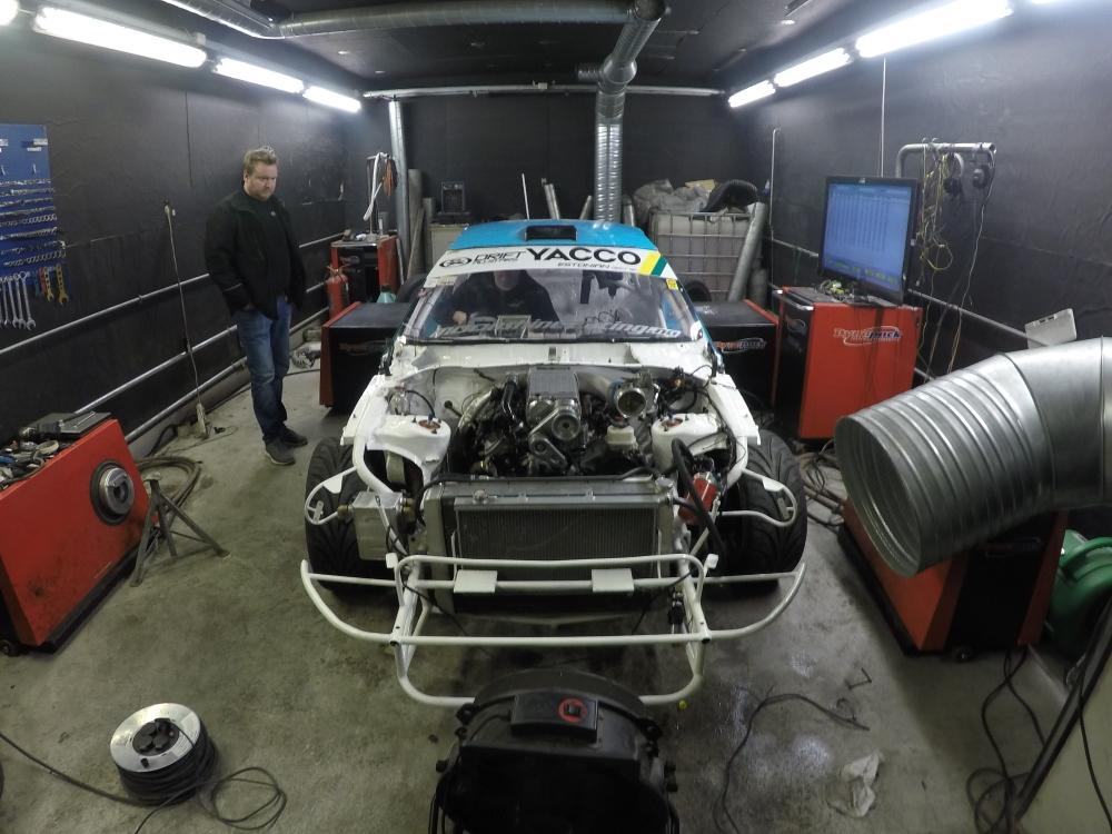 Tuning KRB trading Toyota Soarer .